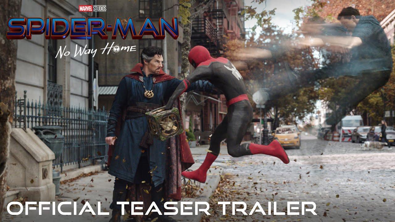 Tráiler de Spider-Man: No Way Home