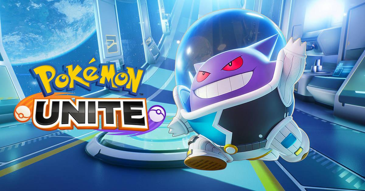 Nueva skin de Gengar en Pokémon Unite