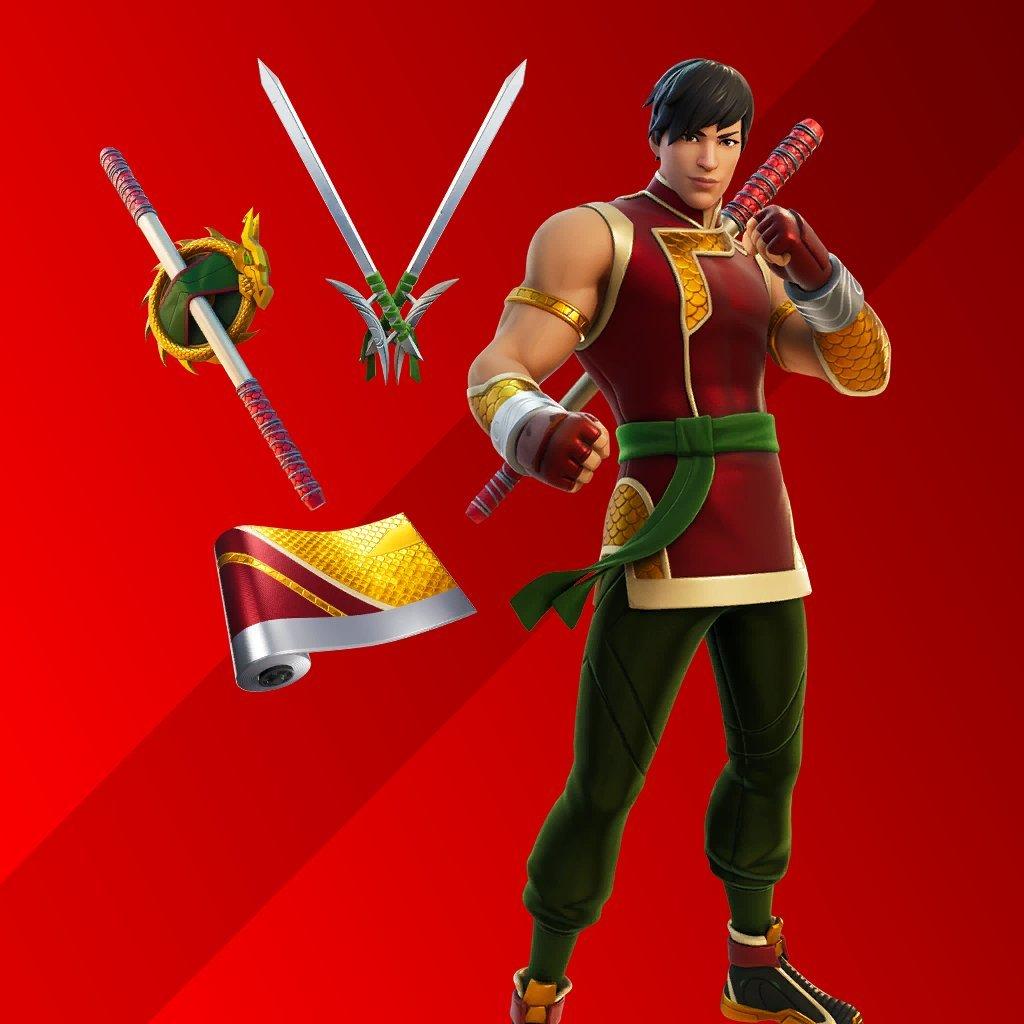 Pack de Shang-Chi en Fortnite