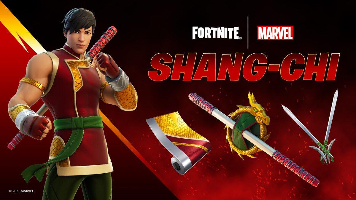 Shang-chi Fortnite- Marvel